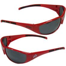 Utah Utes Wrap Sunglasses NCCA College Sports 2CSG89