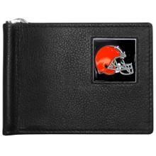 Cleveland Browns Bill Clip Wallet MLB Baseball FBCW025