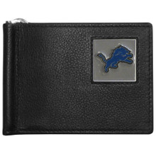 Detroit Lions Bill Clip Wallet MLB Baseball FBCW105