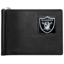 Oakland Raiders Bill Clip Wallet MLB Baseball FBCW125