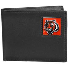 Cincinnati Bengals Black Bifold Wallet