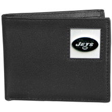 New York Jets Black Bifold Wallet