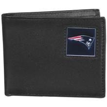 New England Patriots Black Bifold Wallet