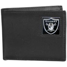 Oakland Raiders Black Bifold Wallet