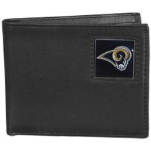 St. Louis Rams Black Bifold Wallet