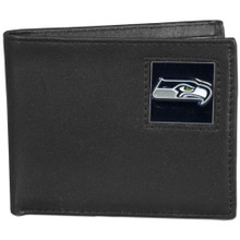 Seattle Seahawks Black Bifold Wallet