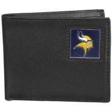 Minnesota Vikings Black Bifold Wallet
