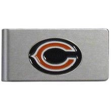 Chicago Bears Brushed Money Clip