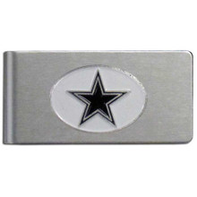 Dallas Cowboys Brushed Money Clip