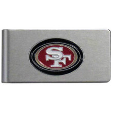 San Francisco 49ers Brushed Money Clip