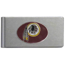 Washington Redskins Brushed Money Clip
