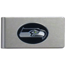 Seattle Seahawks Brushed Money Clip