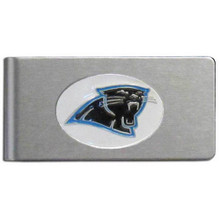 Carolina Panthers Brushed Money Clip