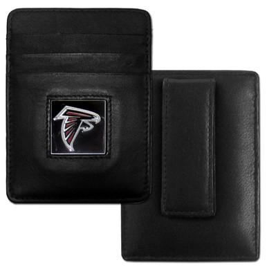 Atlanta Falcons Card Holder Money Clip Wallet FCH070