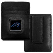 Carolina Panthers Card Holder Money Clip Wallet FCH170