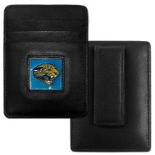 Jacksonville Jaguars Card Holder Money Clip Wallet FCH175