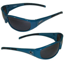San Jose Sharks Wrap Sunglasses NHL Hockey 2HSG115