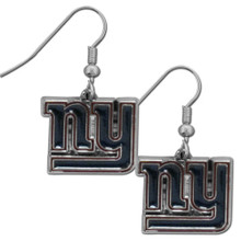 New York Giants Chrome Dangle Earrings FDE090N