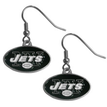 New York Jets Dangle Earrings FDE100