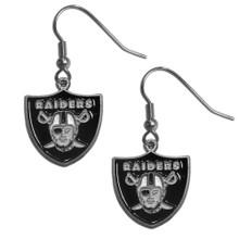 Oakland Raiders Dangle Earrings FDE125