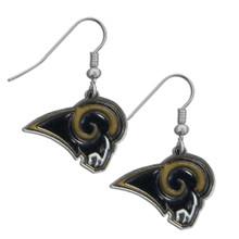 St. Louis Rams Chrome Dangle Earrings FDE130N