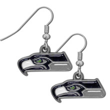 Seattle Seahawks Dangle Earrings FDE155