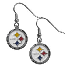 Pittsburgh Steelers Dangle Earrings FDE160