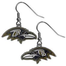 Baltimore Ravens Dangle Earrings FDE180