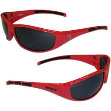 New Jersey Devils Wrap Sunglasses NHL Hockey 2HSG50