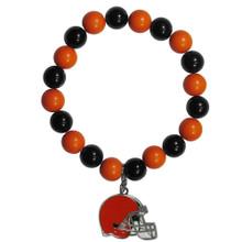 Cleveland Browns Fan Bead Bracelet NFL Football FFBB025