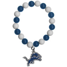 Detroit Lions Fan Bead Bracelet NFL Football FFBB105