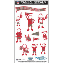Tampa Bay Buccaneers Medium Family Decal Stickers FFMD030