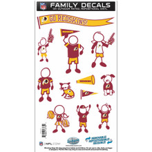 Washington Redskins Medium Family Decal Stickers FFMD135