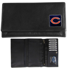 Chicago Bears Black Women's Leather Wallet FFW005