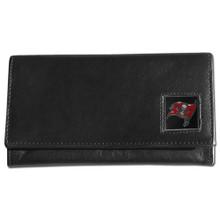 Tampa Bay Buccaneers Black Women's Leather Wallet FFW030