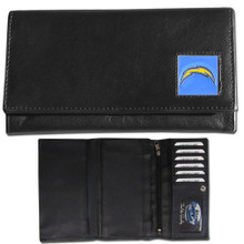 San Diego Chargers Black Women's Leather Wallet FFW040