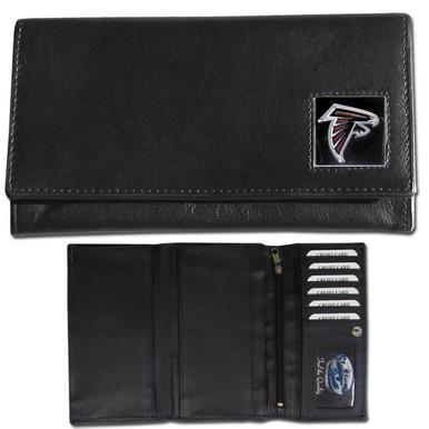 Atlanta Falcons Black Women's Leather Wallet FFW070