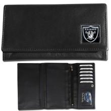 Oakland Raiders Black Women's Leather Wallet FFW125