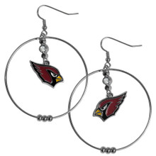 Arizona Cardinals Hoop Earrings FHE035