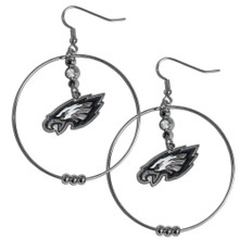 Philadelphia Eagles Hoop Earrings FHE065