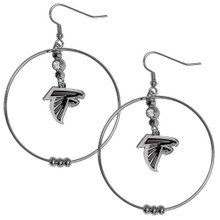 Atlanta Falcons Hoop Earrings FHE070