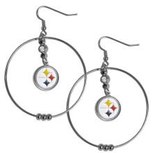 Pittsburgh Steelers Hoop Earrings FHE160