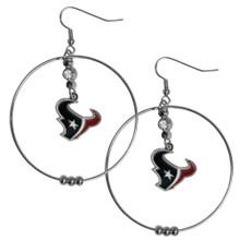 Houston Texans Hoop Earrings FHE190