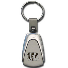 Cincinnati Bengals Etched Key Chain FKC010