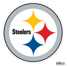 "Pittsburgh Steelers 8"" Car Magnet NFL Football FLAM160"
