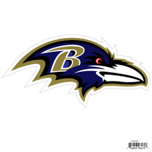 "Baltimore Ravens 8"" Car Magnet NFL Football FLAM180"