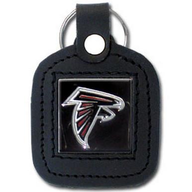Atlanta Falcons Square Leather Key Fob NFL Football FLK071