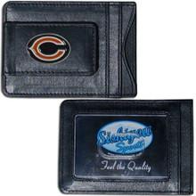 Chicago Bears Cash & Cardholder Wallet NFL Football FLMC005