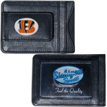 Cincinnati Bengals Cash & Cardholder Wallet NFL Football FLMC010