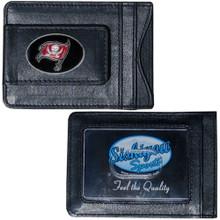 Tampa Bay Buccaneers Cash & Cardholder Wallet NFL Football FLMC030
